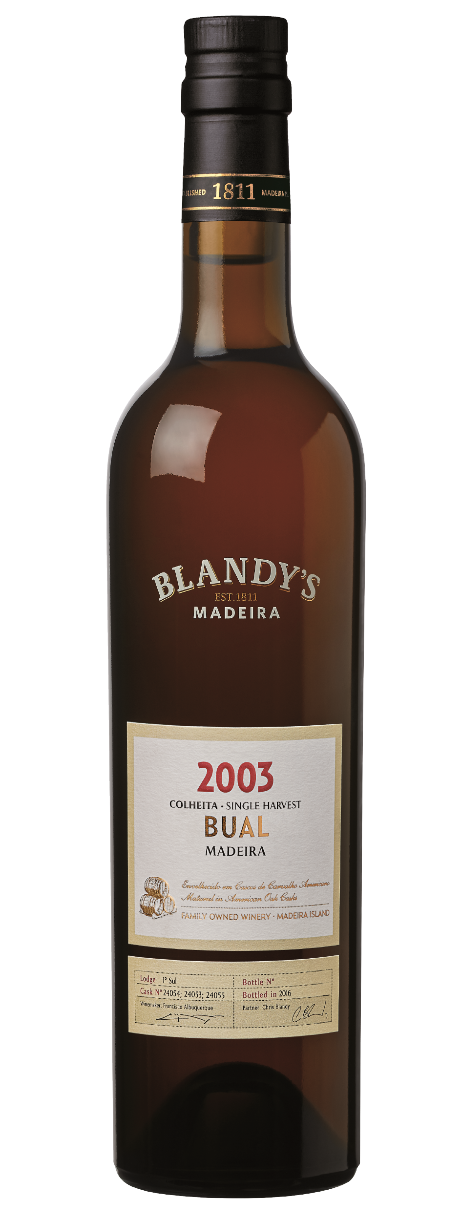 Product Image for BLANDY'S BUAL COLHEITA 2003