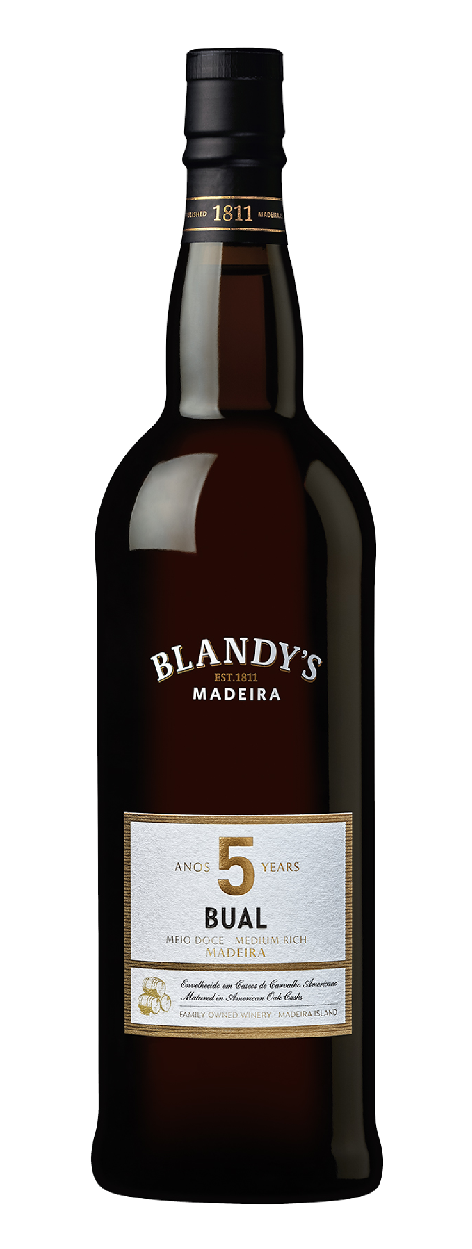 Product Image for BLANDY'S BUAL 5 YEAR OLD