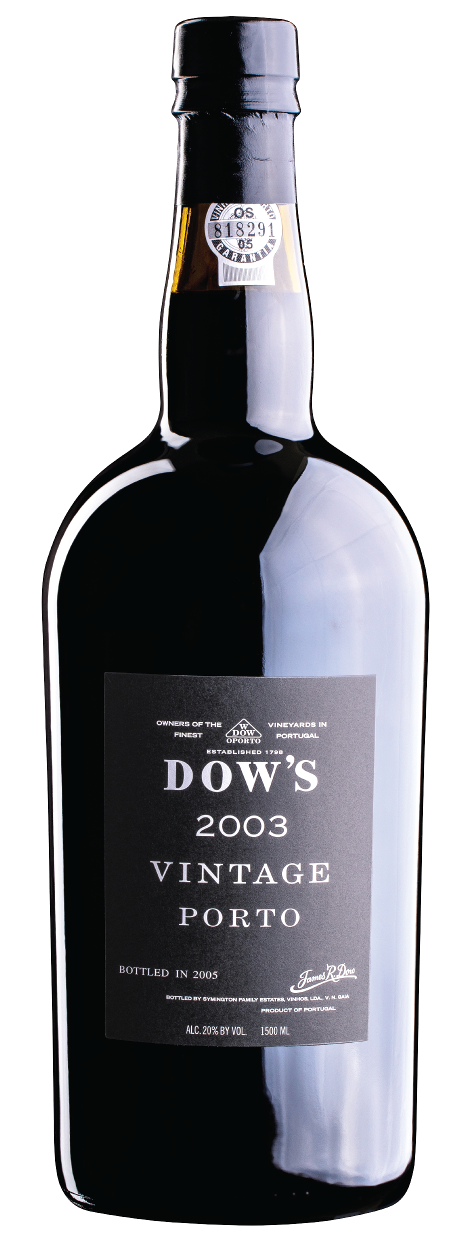 Product Image for DOW'S VINTAGE PORT 2003 - MAGNUM
