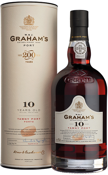 Product Image for GRAHAM'S 10 YEAR OLD TAWNY PORT W/TUBE