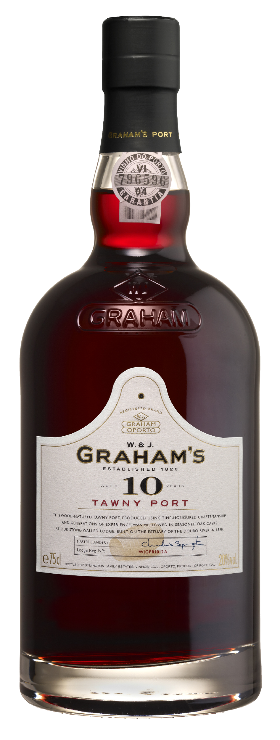 Product Image for GRAHAM'S 10 YEAR OLD TAWNY PORT