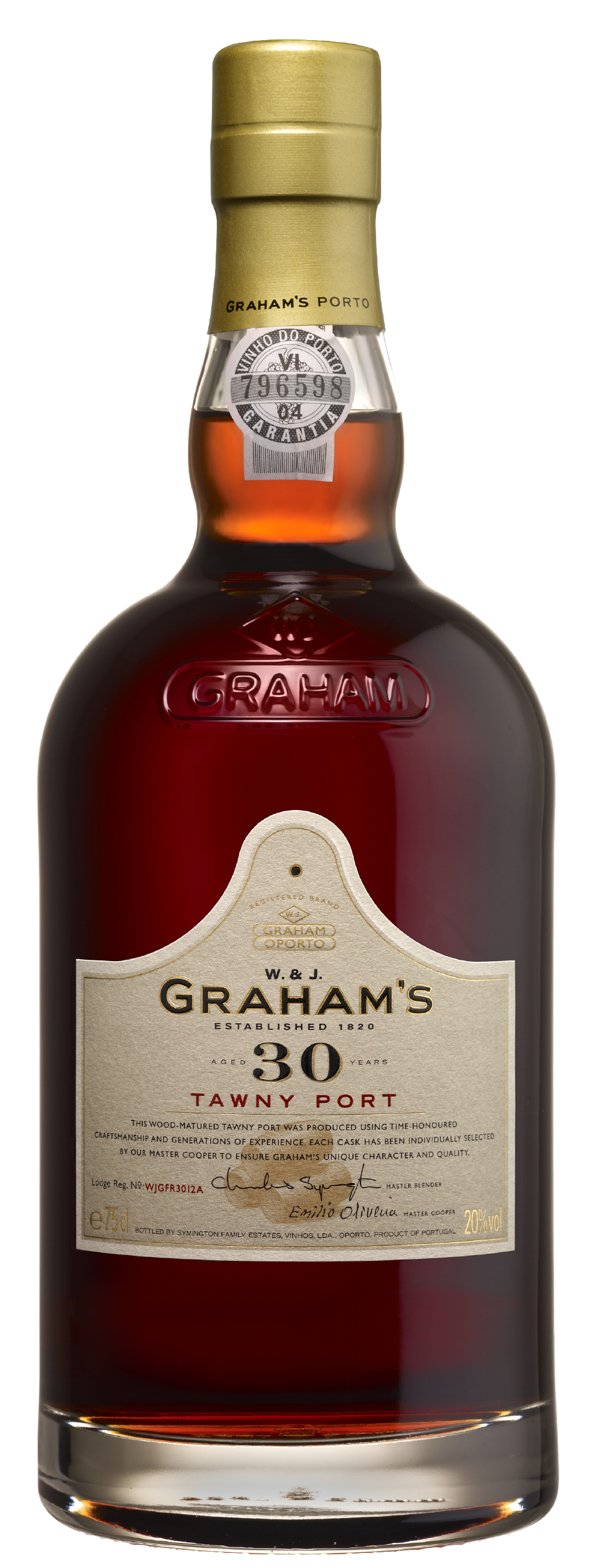Product Image for GRAHAM'S 30 YEAR OLD TAWNY PORT