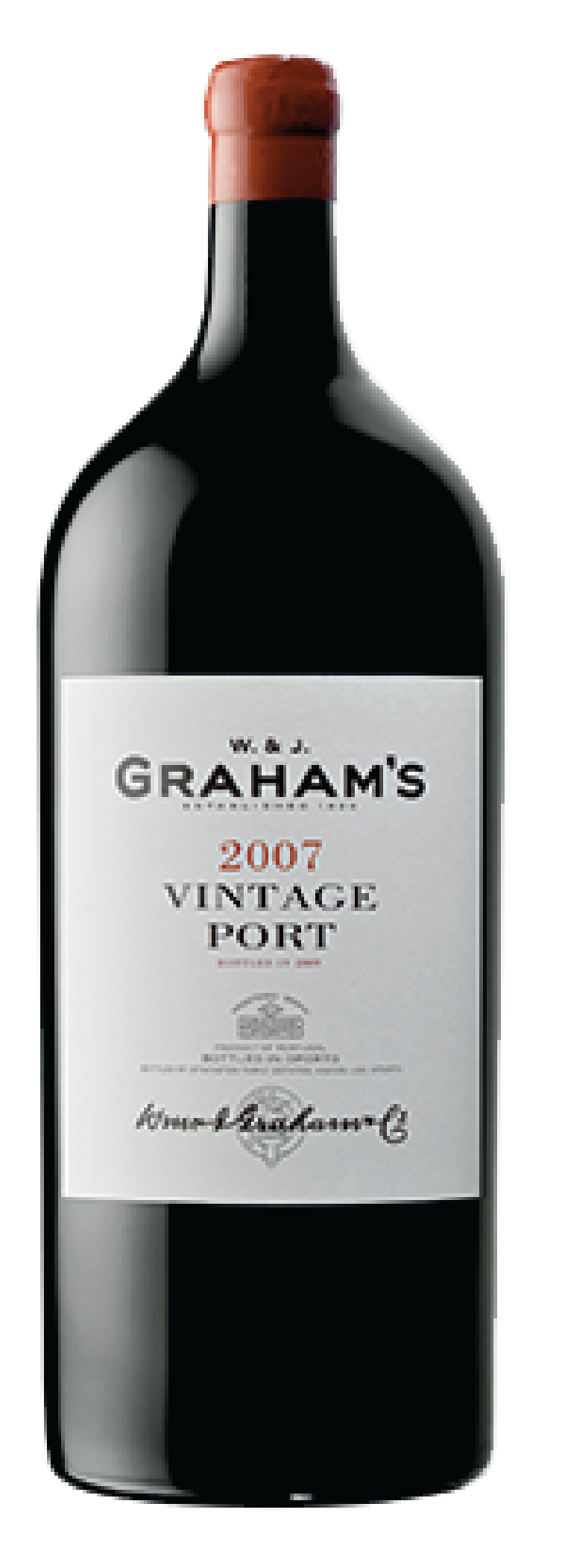 Product Image for GRAHAM'S VINTAGE PORT 2007 - METHUSELAH