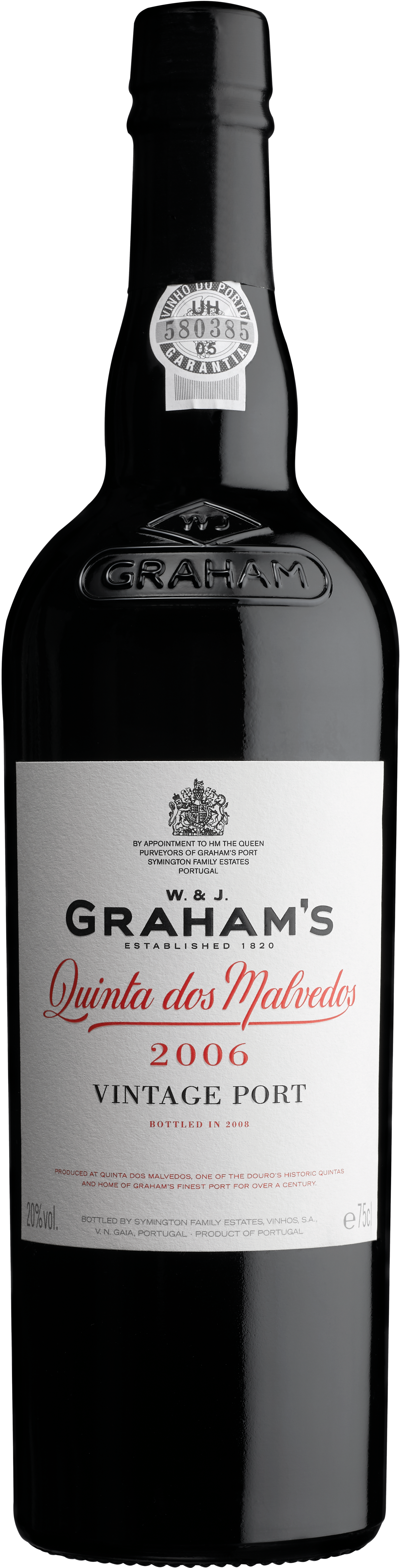 "Product Image for GRAHAM'S ""QUINTA DOS MALVEDOS"" VINTAGE PORT 2006"