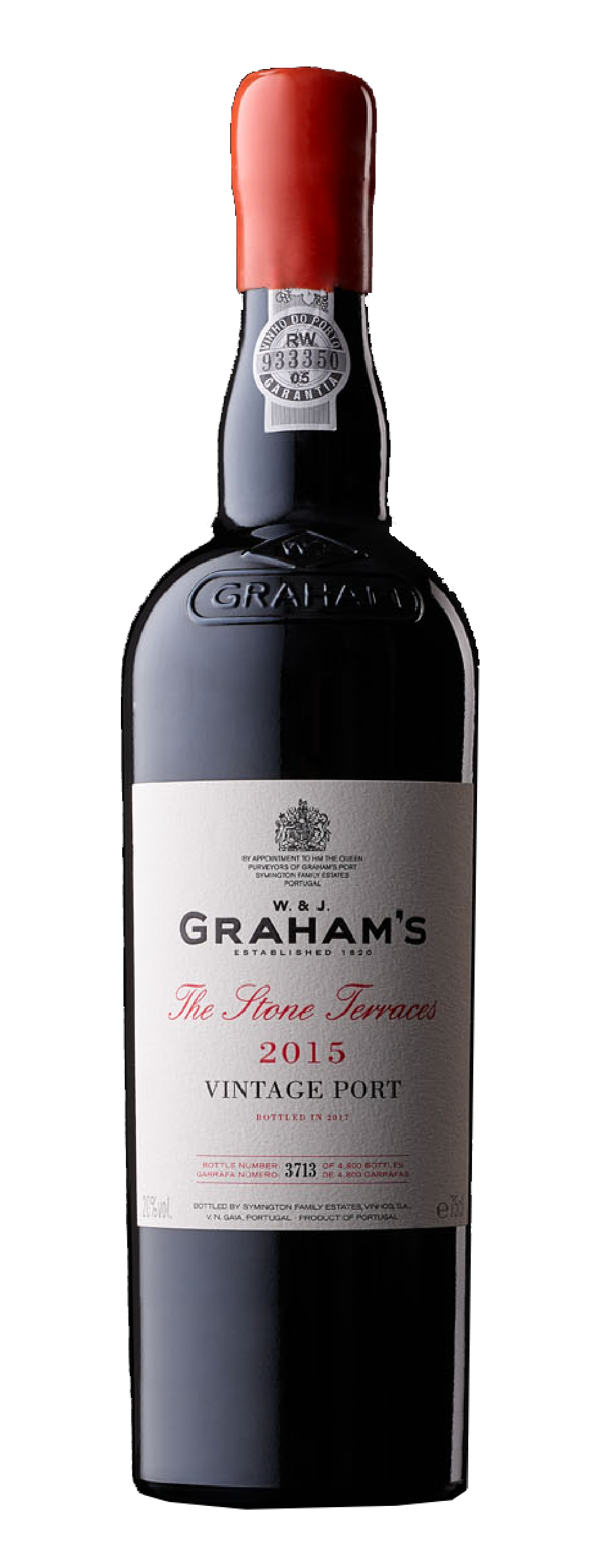 "Product Image for GRAHAM'S ""THE STONE TERRACES"" VINTAGE PORT 2015"