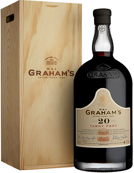 Product Image for GRAHAM'S 20 YEAR OLD TAWNY PORT - JEROBOAM
